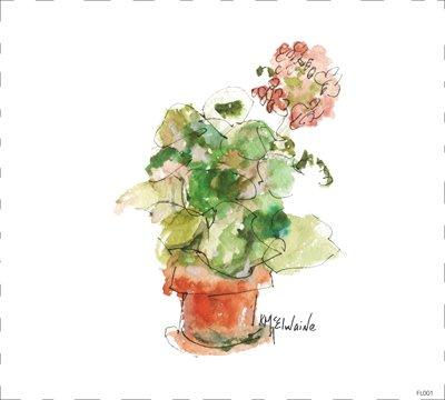 Flower Geranium FL001