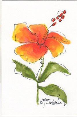 FL092 Hibiscus