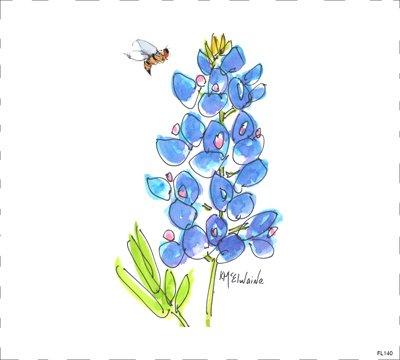 Flower Blue FL140