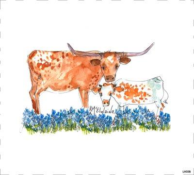 Cow LH008