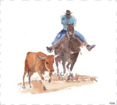 Horse Rodeo PE002