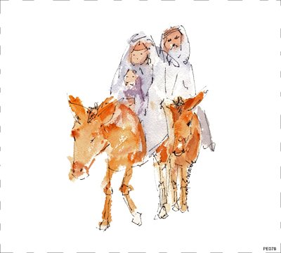Season People Nativity PE078