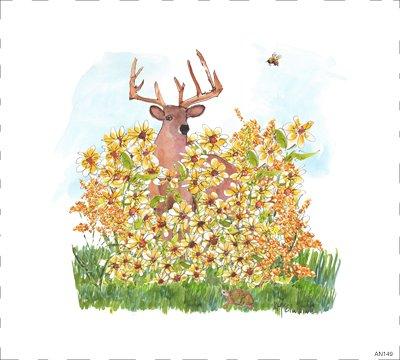 Woodland Deer AN149