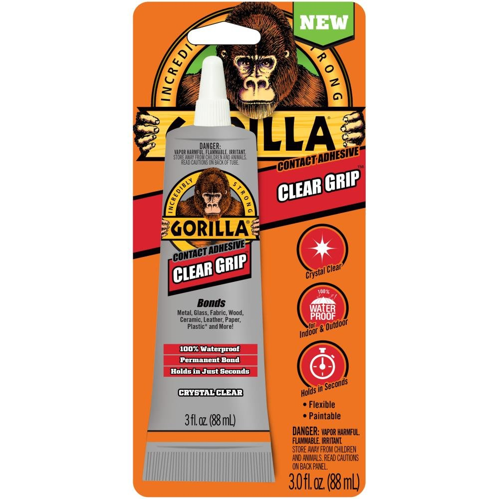 Gorilla Clear Grip Contact Adhesive-3oz