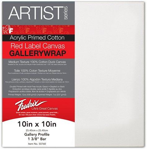 Fredrix Red Label Gallerywrap Stretched Canvas