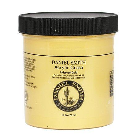 DANIEL SMITH Acrylic Gesso, Iridescent Gold