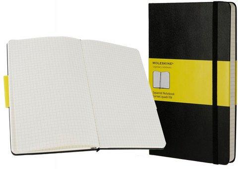 MOLESKINE SQUARED (GRID) NOTEBOOK LARGE 5 X 8.25