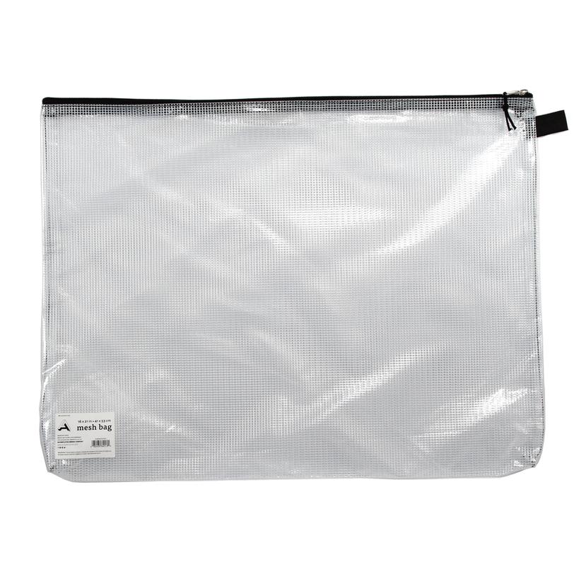 MESH BAG CLEAR 16X21
