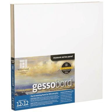 Gessobord, Cradled 3/4 Profile, 10 x 10