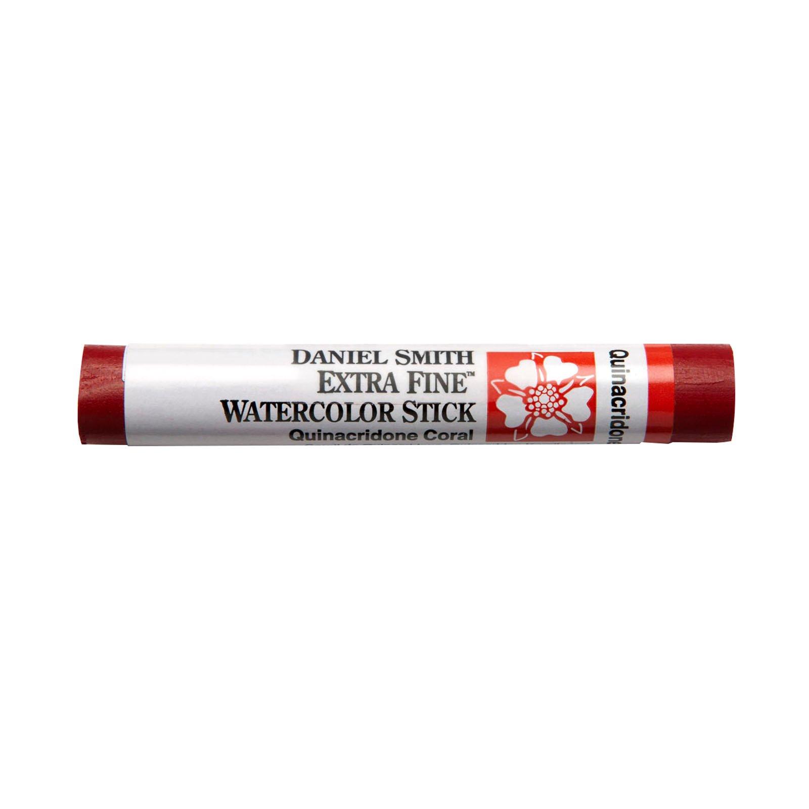 Extra-Fine Watercolor Sticks, Quinacridone Coral - 12ml Stick