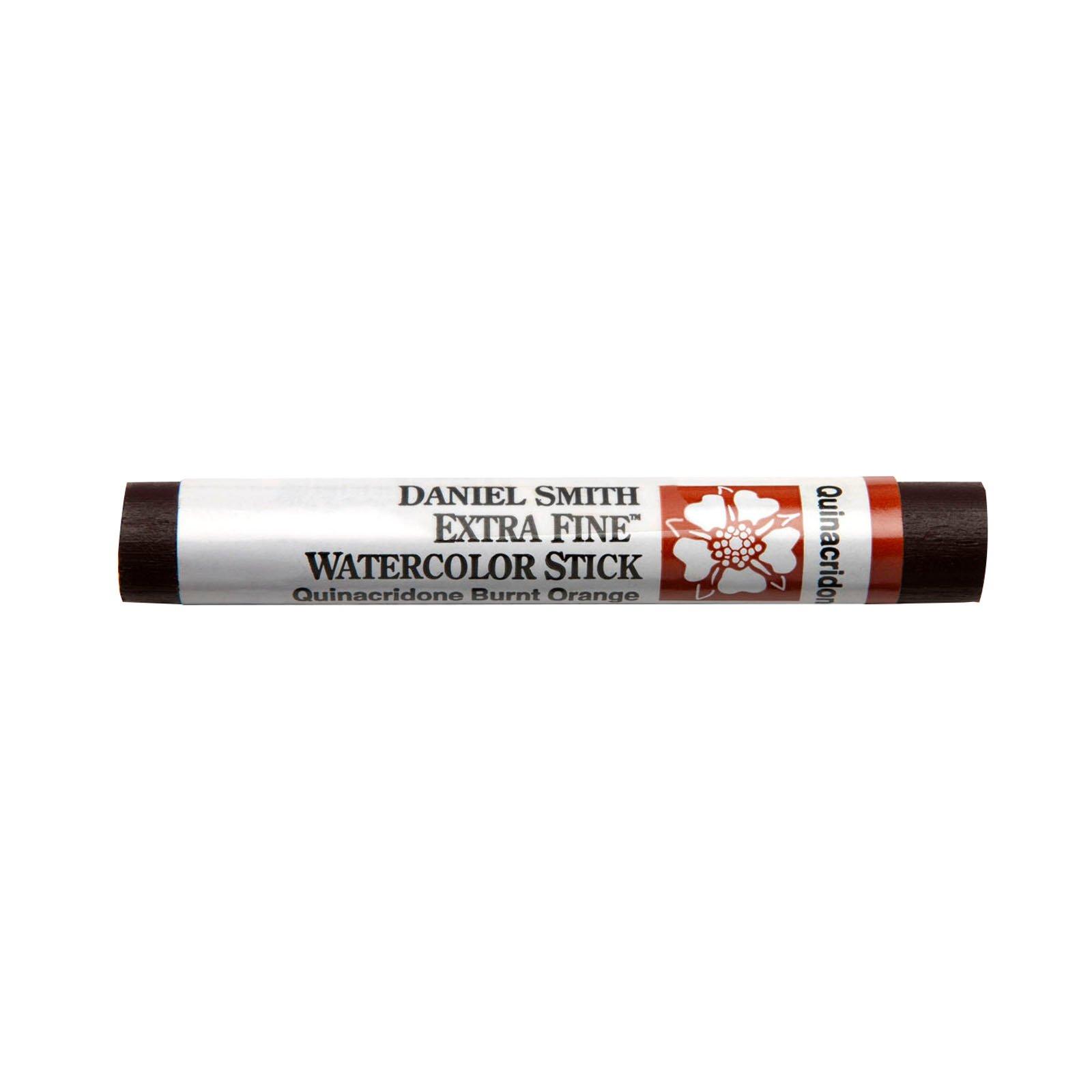 Extra-Fine Watercolor Sticks, Quinacridone Burnt Orange - 12ml Stick