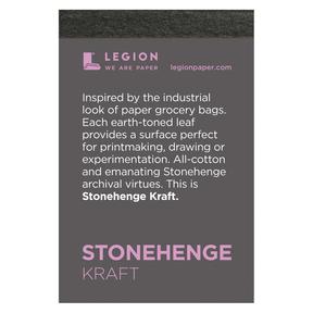 Mini Paper Pads, Stonehenge Kraft 250gsm, 15 Shts