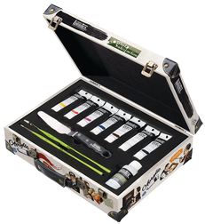 Liquitex Heavy Body Acrylics Suitcase Set, 11 Pieces in a Metal case
