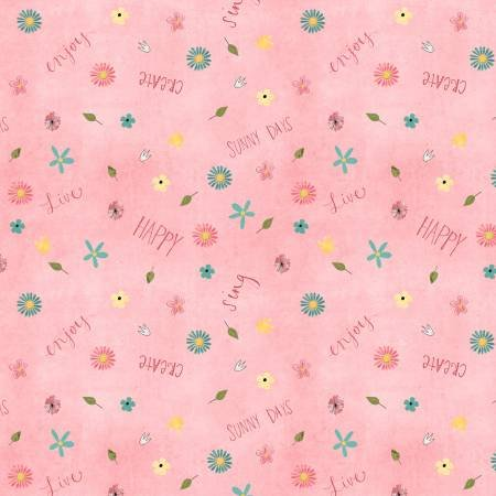 On the Road Again - Pink Small Floral - #54508-345