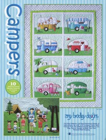 Campers Quilt Pattern - Amy Bradley Designs ABD269