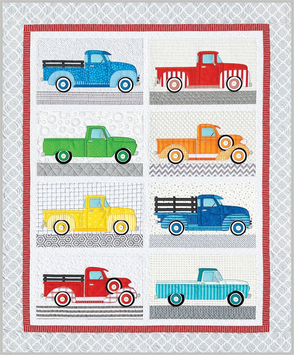Trucks - Amy Bradley Designs ABD280