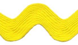 Ric Rac Size 54, Bright Yellow 650