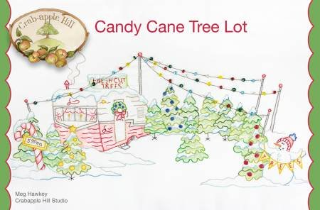 Candy Cane Tree Lot - Crab-Apple Hill CAH446