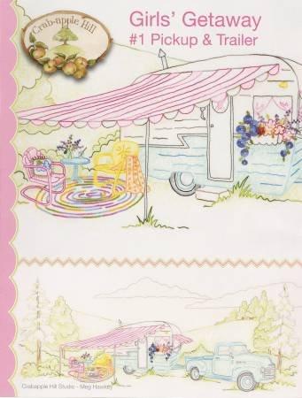 Girls' Getaway 1 Pickup & Trailer CAH2553