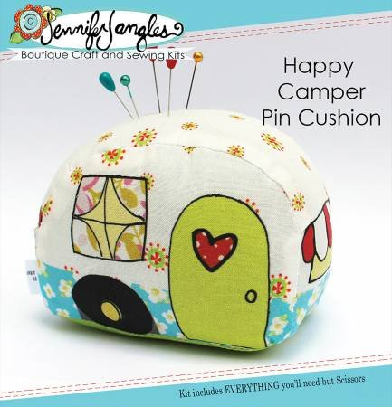 Happy Camper Pin Cushion Kit - Jennifer Jangles KT5464
