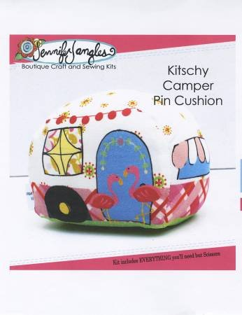 Kitschy Camper Pin Cushion Kit - Jennifer Jangles KT5425