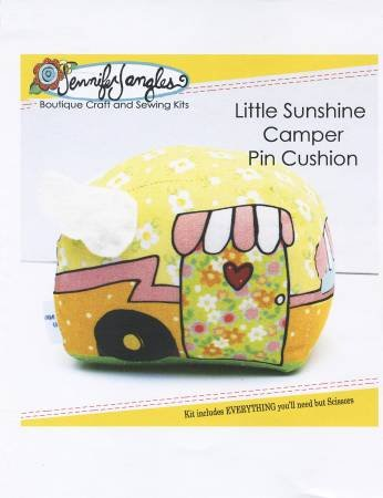 Little Sunshine Camper Pin Cushion Kit - Jennifer Jangles KT5342