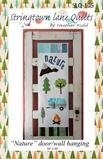 Nature door/wall hanging - Stringtown Lane Quilts SLQ-105