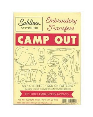 Camp Out Embroidery by Sublime Stitching - subcamp