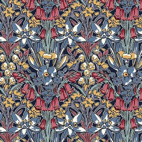 Adlington Hall C by Liberty Fabrics for Riley Blake