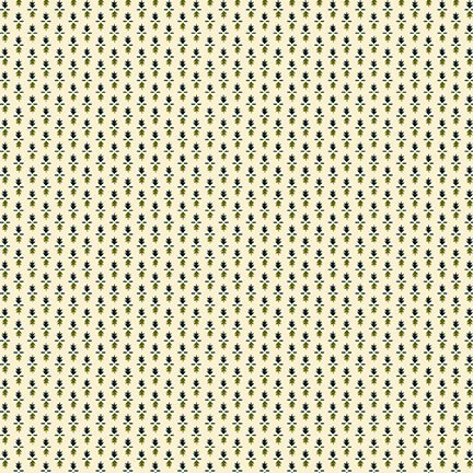 Shirting Foulard in Green and Teal - Tarrytown