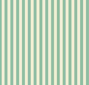 Aqua and Soft White Stripe