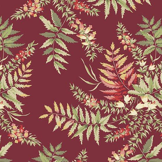 Fern in Cranberry