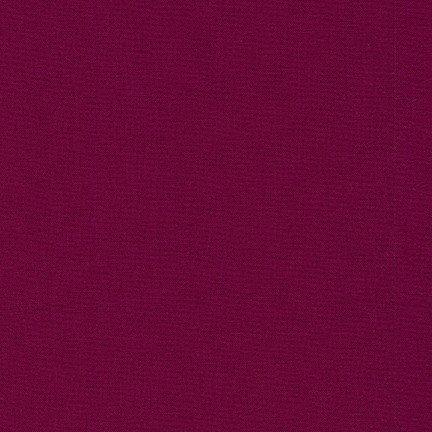 Bordeaux  -  Kona Cotton Solid