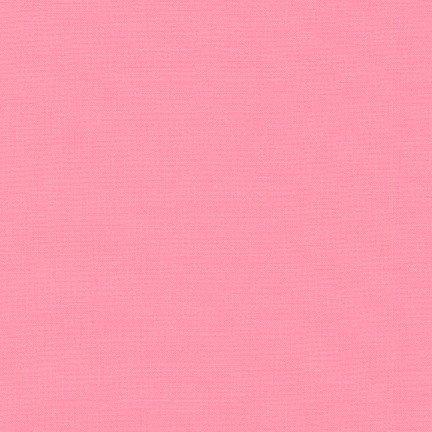 Bubble Gum - Kona Cotton Solid