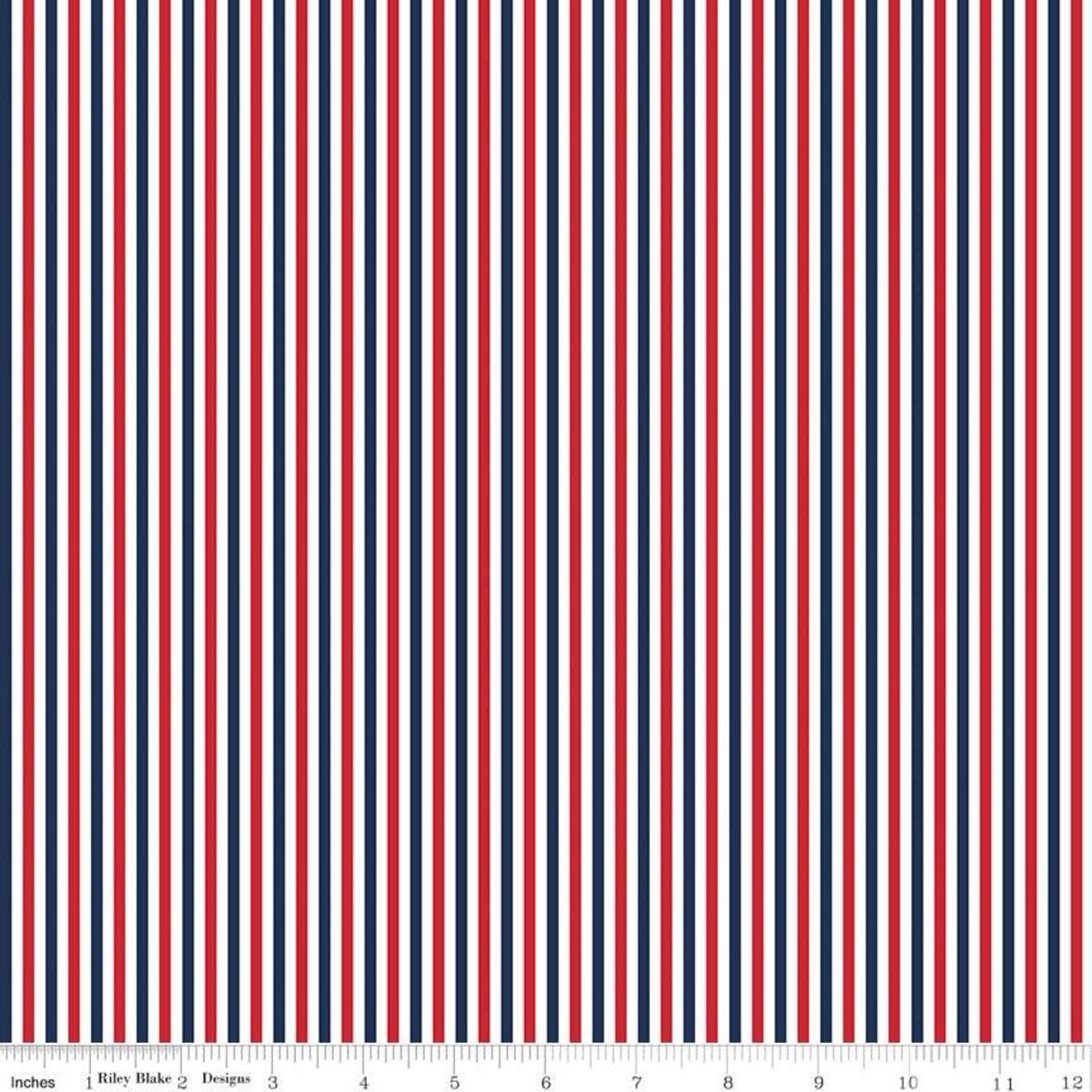 Narrow Patriotic Stripe