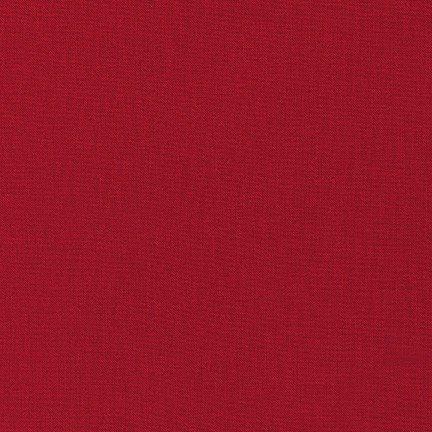 Chinese Red - Kona Cotton Solid