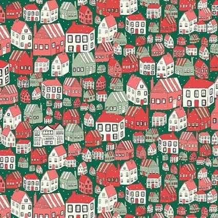 Yule Town by Liberty Fabrics for Riley Blake