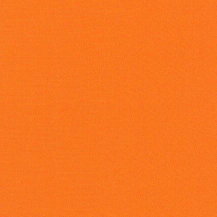 Kumquat - Kona Cotton Solid