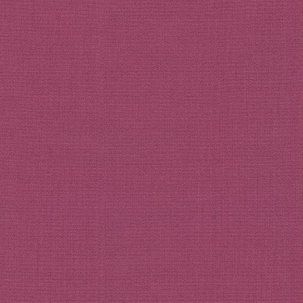 Plum - Kona Cotton Solid