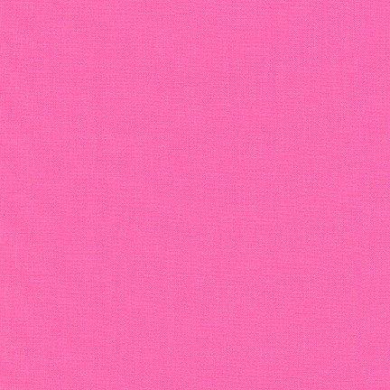 Sassy Pink - Kona Cotton Solid