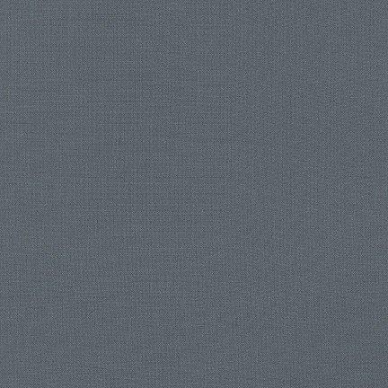 Steel - Kona Cotton Solid