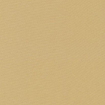 Straw - Kona Cotton Solid