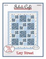 Easy Street 3 yard quilt pattern