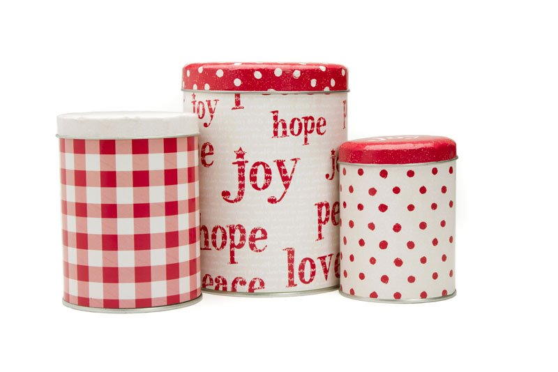 Nesting Holiday Tin [Set of 3]