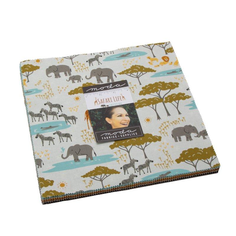 Safari Life 10 Layer Cake by Stacy Iest Hsu | Moda Fabrics