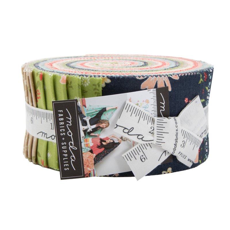 Harpers Garden 2.5 Jelly Roll   Moda Fabrics