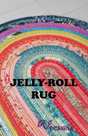Jelly Roll Rug by RJ Designs [Paper Pattern]