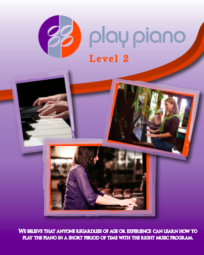 88 Play Piano Lesson Book Level 2