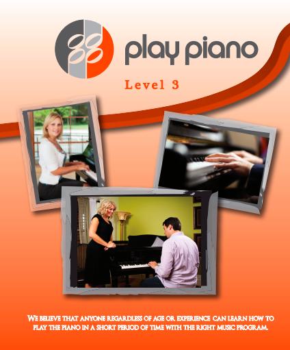 88 Play Piano Lesson Book Level 3