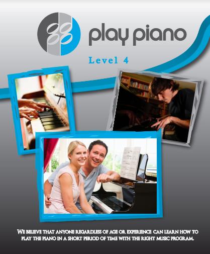 88 Play Piano Lesson Book Level 4